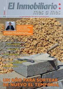Revista El Inmobiliario mes a mes, número 121, enero de 2013. Noticias del sector inmobiliario español.