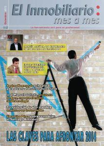 Revista El Inmobiliario mes a mes, número 130, diciembre de 2013. Noticias del sector inmobiliario español.