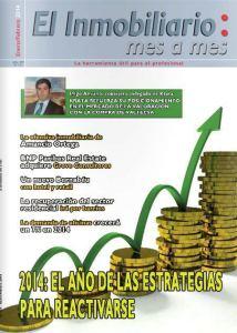 Revista El Inmobiliario mes a mes, número 132, enero-febrero de 2014. Noticias del sector inmobiliario español.