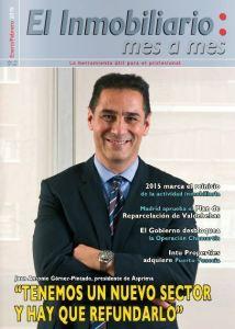 Revista El Inmobiliario mes a mes, número 140, enero-febrero de 2015. Noticias del sector inmobiliario español.
