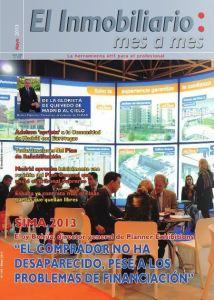 Revista El Inmobiliario mes a mes, número 125, mayo de 2013. Noticias del sector inmobiliario español.