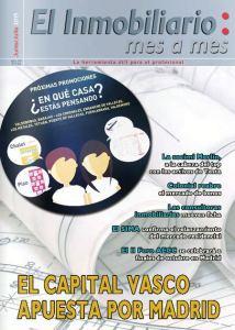 Revista El Inmobiliario mes a mes, número 144, junio-julio de 2015. Noticias del sector inmobiliario español.