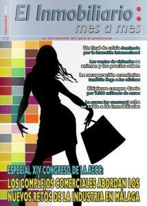 Revista El Inmobiliario mes a mes, número 136, septiembre de 2014. Noticias del sector inmobiliario español.