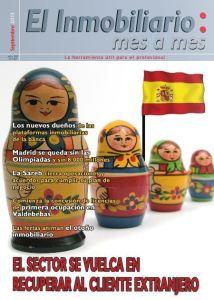 Revista El Inmobiliario mes a mes, número 127, septiembre de 2013. Noticias del sector inmobiliario español.