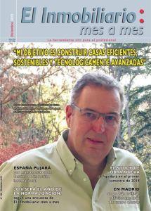 Revista El Inmobiliario mes a mes, número 148, diciembre de 2015. Noticias del sector inmobiliario español.
