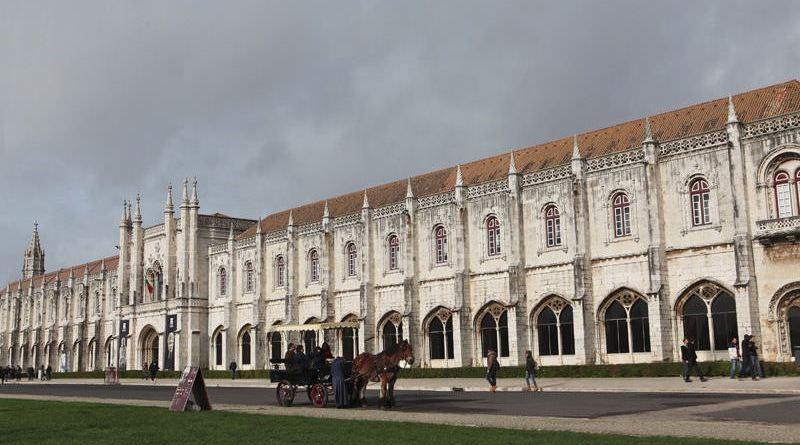 Monasterio de los Jerónimos, en Lisboa