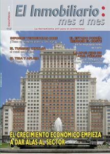 Revista El Inmobiliario mes a mes, número 149, enero-febrero 2016. Noticias del sector inmobiliario español.