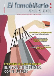 Revista El Inmobiliario mes a mes, número 153, septiembre 2016. Noticias del sector inmobiliario español.