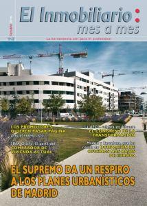 Revista El Inmobiliario mes a mes, número 154, octubre 2016. Noticias del sector inmobiliario español.