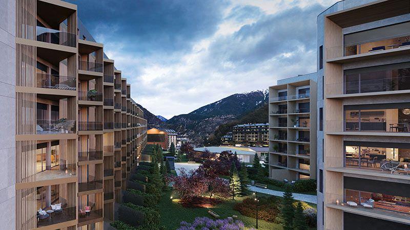 OD Real Estate presenta The White Angel Andorra