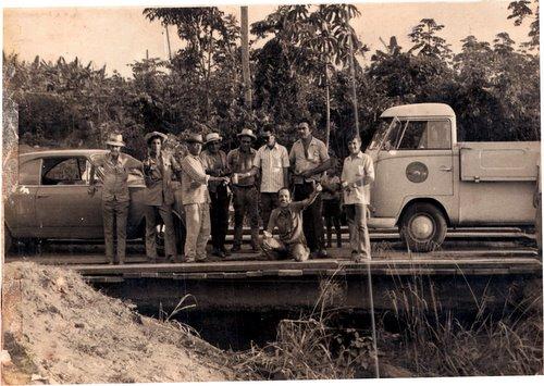 Rua ricardo franco 10-01-1974 - inalguração da ponte