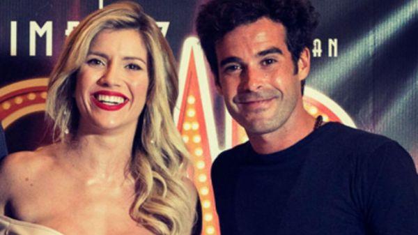 Laurita Fernández y Nicolás Cabré.