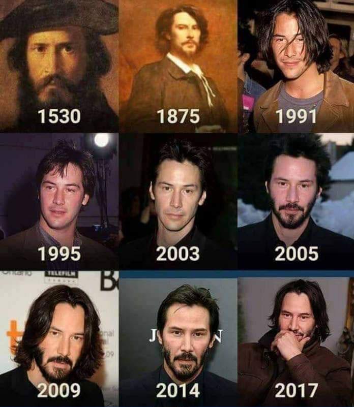 Keanu Reeves inmortal