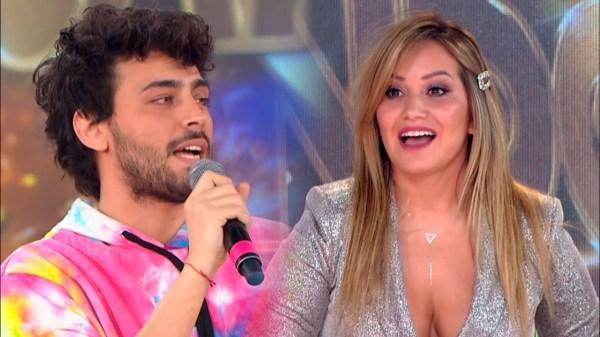 Karina La Princesita y Lizardo Ponce
