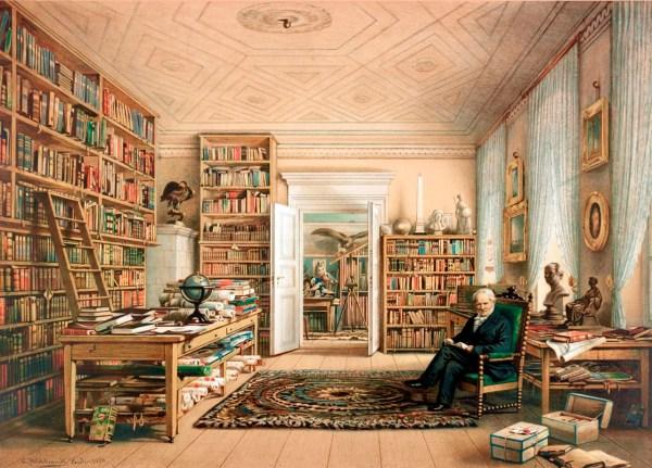 Humboldt by Eduard Hildebrant