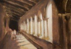Chiostro_45x60_oil on canvas__2006