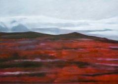 Islandische landscaft III_100x80_oil on canvas_2010