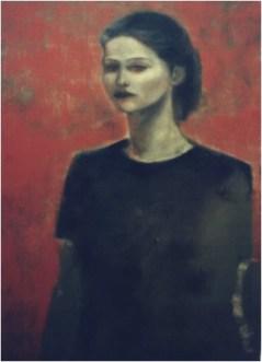 Ritratto di Roberta_olio su tela_50x70_2003