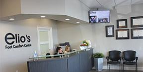 Foot care clinic   Elios Foot Comfort Centre   Reception