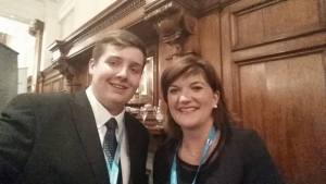 Eliot Smith and Nicky Morgan