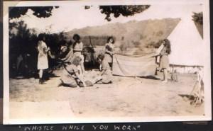Habonim 1940's girls gedud