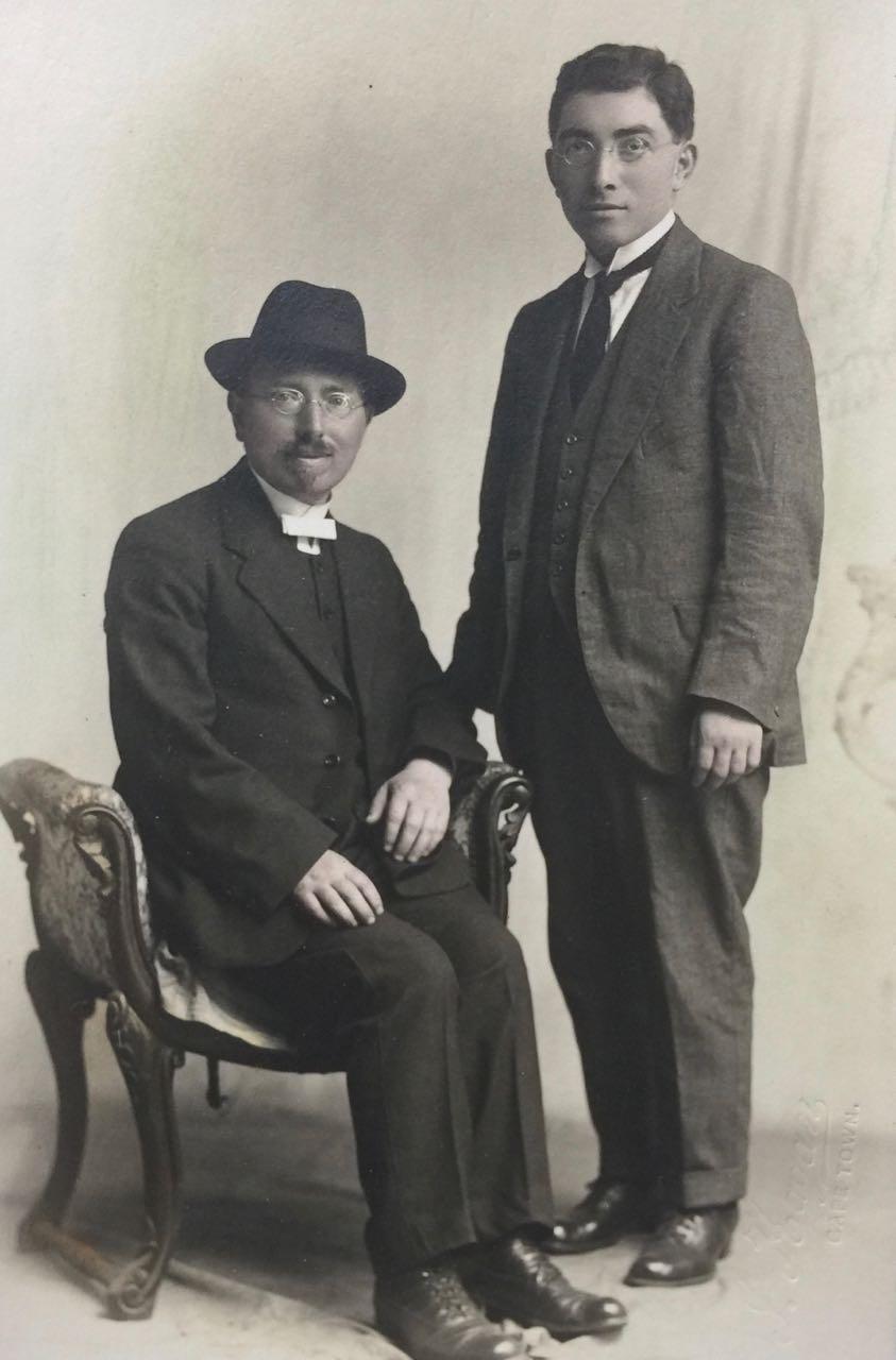 Nachum Mendel & Moshe Zalman Rabinowitz