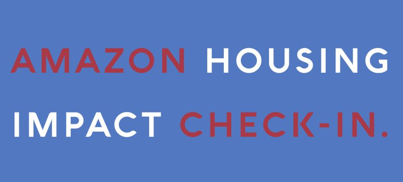 Amazon Housing Impact Check-in