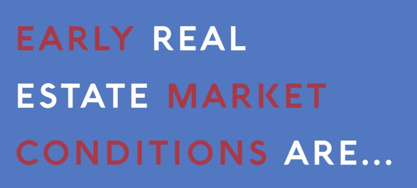 Early Real Estate Market Conditions Are…