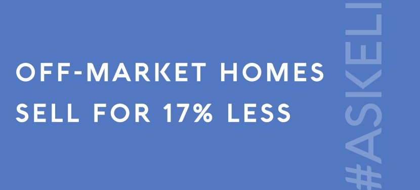 Off-Market Homes Sell for 17% Less
