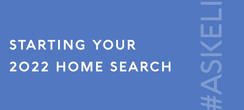 Starting Your 2022 Home Search