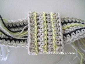 detail of foldover/crossbody bag