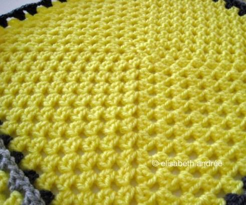 square of picnic blanket