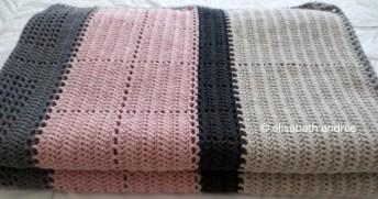 crochet blocks and stripes