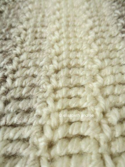 stitch pattern: all trebbles