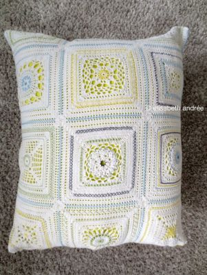 white crochet with embroidery