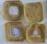 variegated blocks mustard