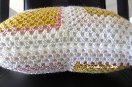 mustard lilac cover with lace closure