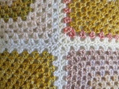 mustard yellow cushion cover seames