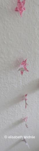 paper faux crochet stars
