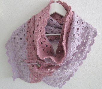 crochet stole scarf by elisabeth andrée
