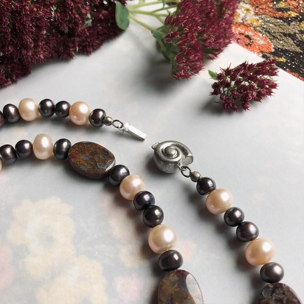 Necklace Snail Clasp