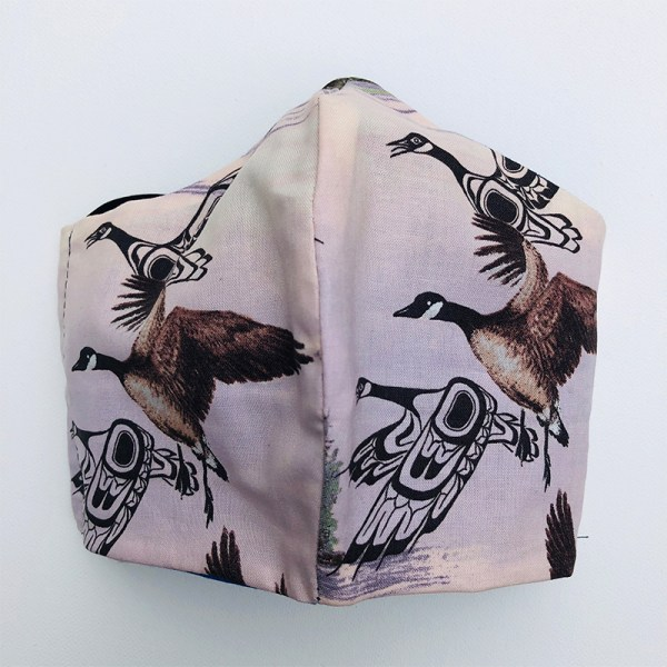 Mask Canada Geese front
