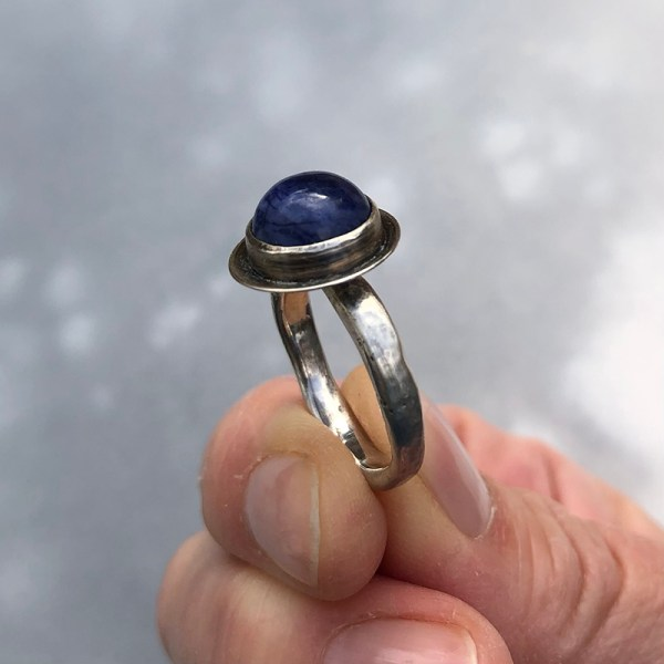 Sodalite Sideview