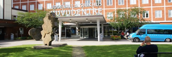 Uddevalla sjukhus Bild: uddevalla.se
