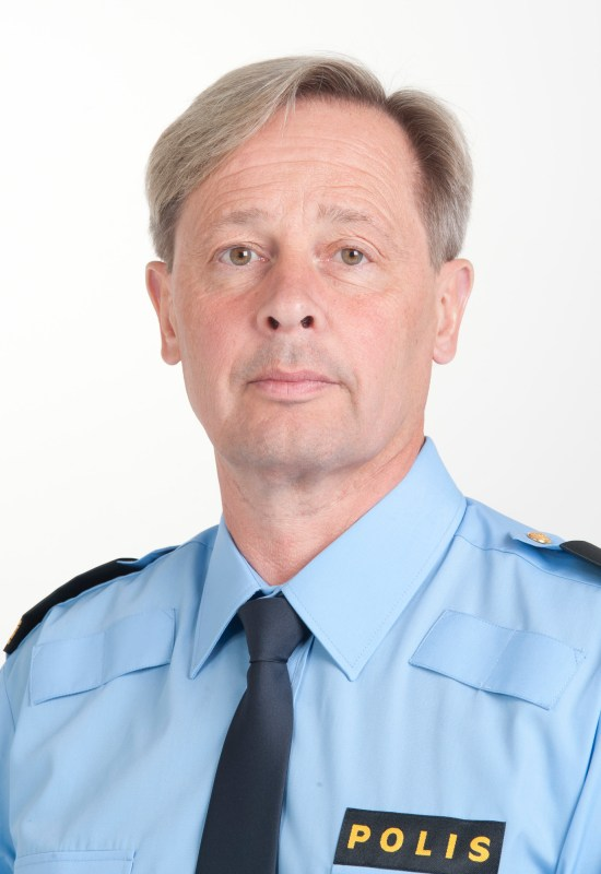 Presstalesman Thomas Fuxborg foto: polisen.se