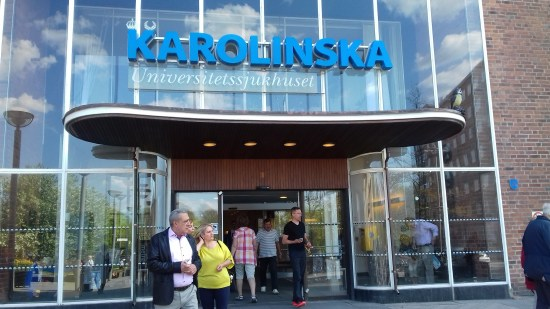 Karolinska Universitetssjukhuset i Solna Foto: Elisabet Höglund