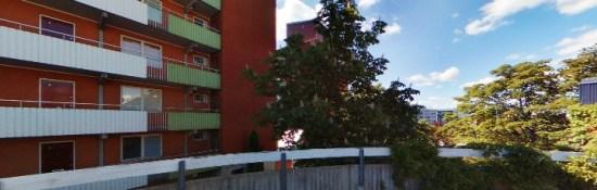 Oslogatan i Husby Foto: Hitta.se
