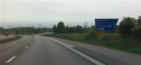 En 40-årig kvinna hittades död i en bostad i norra Enköping. En man är anhållen misstänkt för mord. Bild: lantmannafastigheter.se