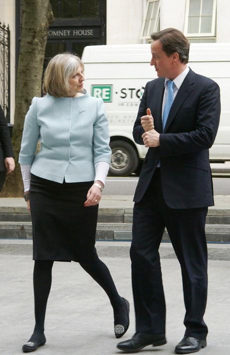 Theresa May och David Cameron Foto: Wikimedia Commons