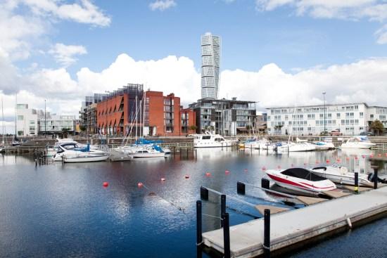 En annan av Malmös vackra kanalbilder Foto: malmo.se